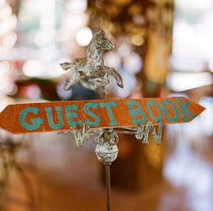 handcrafted wedding details