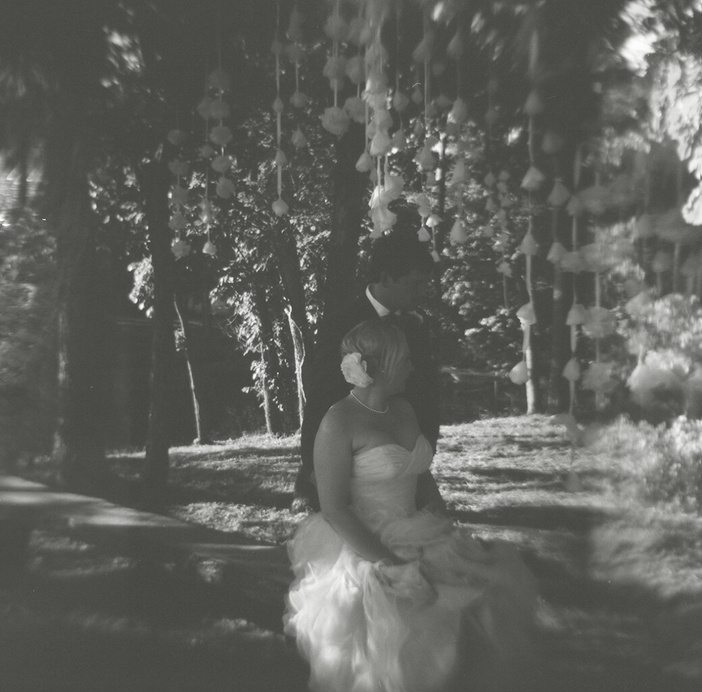 Oklahoma Wedding Holga Photography B&W