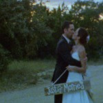 super 8 film wedding
