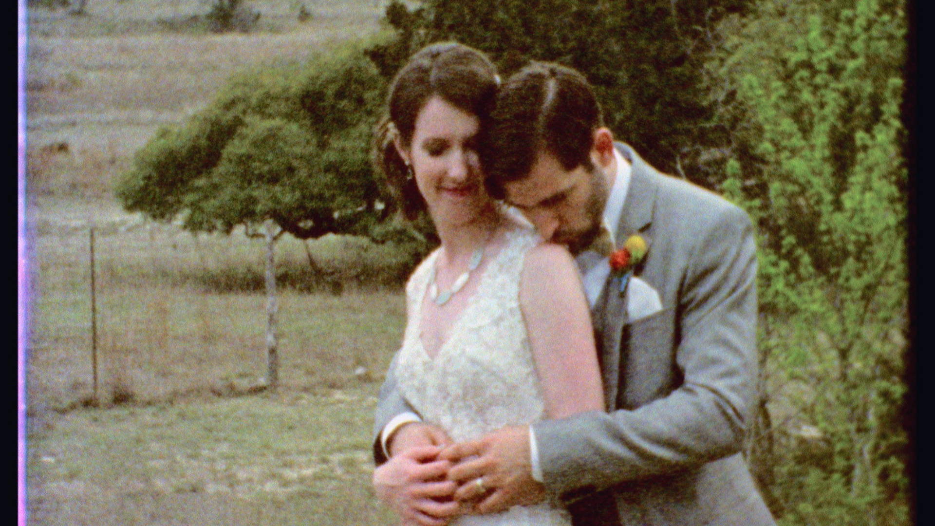 Erin & Adam's Super 8mm & HD Wedding Highlights at Red Corral Ranch